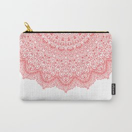 Floral Paisley Carry-All Pouch