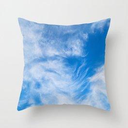 Cirrus Clouds 5 Throw Pillow