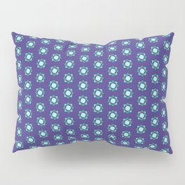 Mandala patern smal blue Pillow Sham
