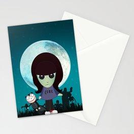 Baby Vamp Kat Stationery Cards