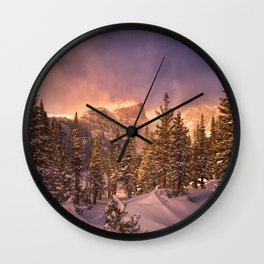 Dream Lake - Rocky Mountain National Park Wall Clock