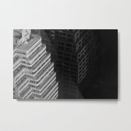 City Shado Metal Print