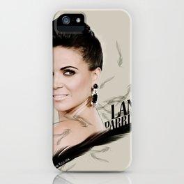 Lana Parrilla iPhone Case