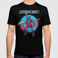 Saturday Night Dance-Off Black MEDIUM Mens Fitted Tee