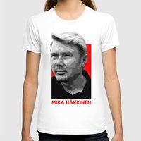 formula 1 T-shirts featuring Formula One - Mika Hakkinen by Vehicle