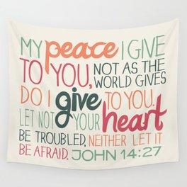 John 14:27 Wall Tapestry