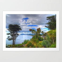 Killiney Hill in Ireland Art Print