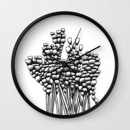 Flower Arrangement 02 Wall Clock