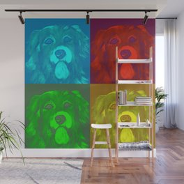 Dog goes pop Wall Mural