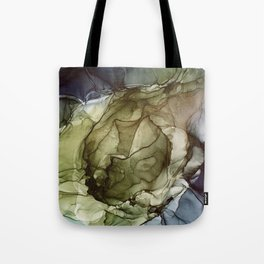 Calm Nature- Earth Inspired Abstract Painting Tote Bag