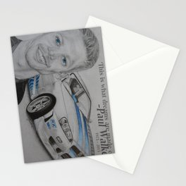 Paul Walker Tribute Stationery Cards