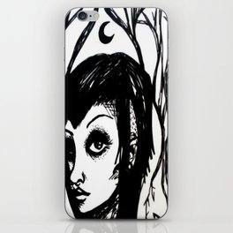 stay creepy iPhone Skin