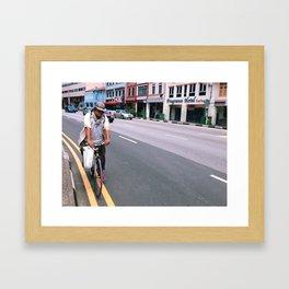 Cycle Through, Mister Framed Art Print