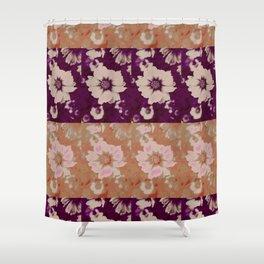Flower Design @  DieFarbenfluesterin Shower Curtain