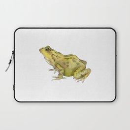 Green Common Frog Laptop Sleeve