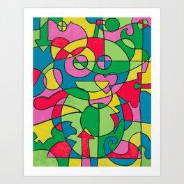reddit love Art Print