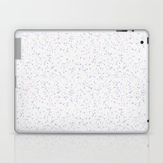 Speckles I: Rose Quartz & Serenity on Snow Laptop & iPad Skin