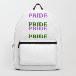 PRIDE Genderqueer Flag Backpack