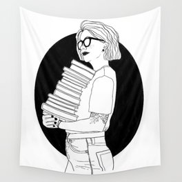 Reading List Wall Tapestry