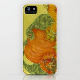 Deborah's Pumpkins iPhone Case