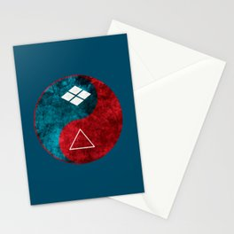 samurai champloo- Yin Yang 2 Stationery Cards