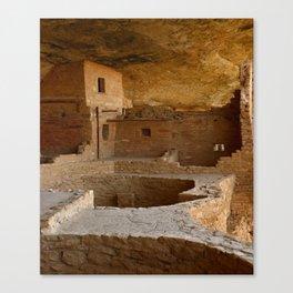 Balcony House View - Mesa Verde Canvas Print