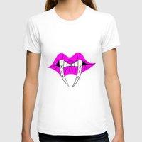 teeth T-shirts featuring Teeth by ParasiticTeddyBear