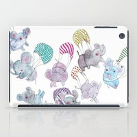 elephants iPad Cases featuring Elephants by Maureen Poignonec