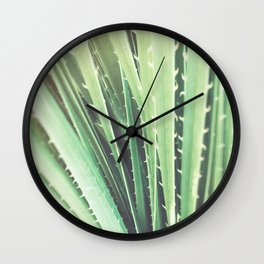 Palm Springs cactus plant California Wall Clock