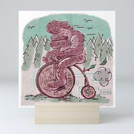 Biggie Biggie Bigfoot Bike Mini Art Print