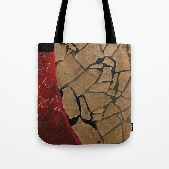 quarter earth Tote Bag