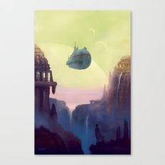 Old Worlds Canvas Print