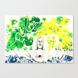 Rio de Janeiro - ALEGRIA Canvas Print