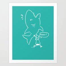 for all the vicious little girls Art Print
