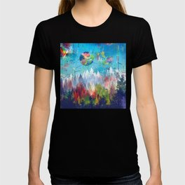 colorful forest 3 T-shirt