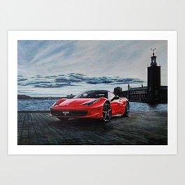 Dream Car I Art Print