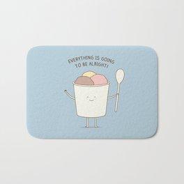 comfort food Bath Mat