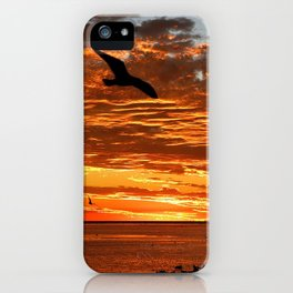 Australian Sunset...... iPhone Case