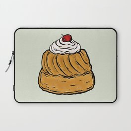 R is for Rum Baba Laptop Sleeve