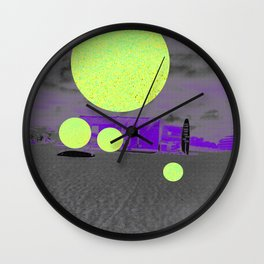 CANDY MOON SHOW Wall Clock