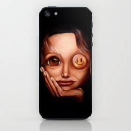 """""""Entertain me twice"""" iPhone Skin"""
