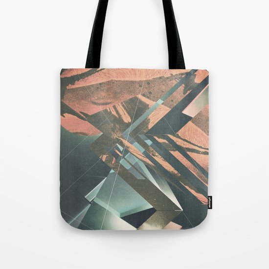 Mars Trails Tote Bag