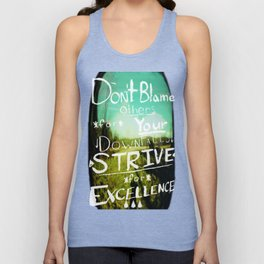Strive for Excellence Unisex Tank Top