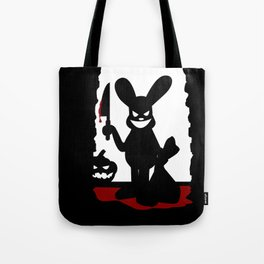Bloody Rabbit Halloween version Tote Bag