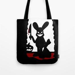 Bloody Rabbit Halloween version Tote Bag