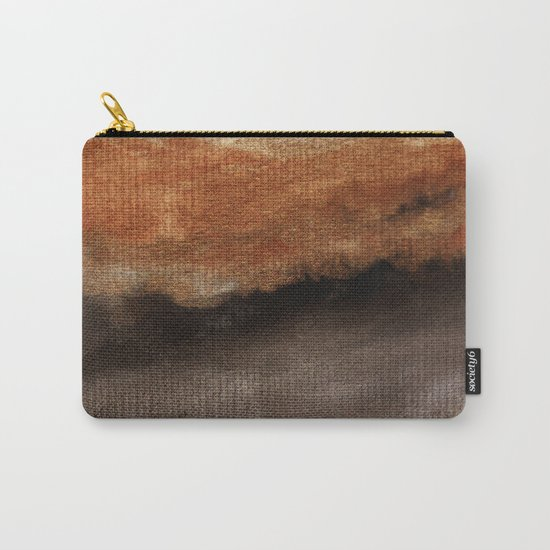 Watercolor abstract landscape 21 Carry-All Pouch