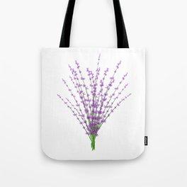 Lavender Bundle Tote Bag