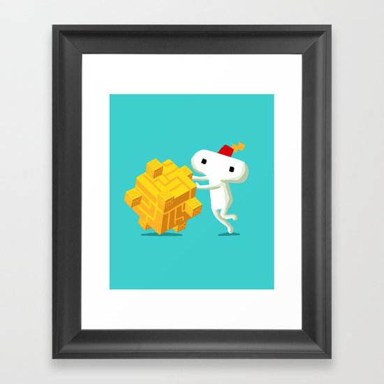 The Prince with a FEZ Framed Art Print