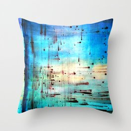 Blowing Dots (2) Throw Pillow