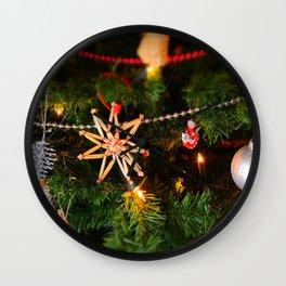 Christmas photo Wall Clock